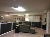 Fully Furnished 2 Bedroom Basement with Shared Laundry & Kitchen