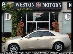 2008 Cadillac CTS ACC FREE* UNBELIEVABLE SHAPE * A MUST SEE!
