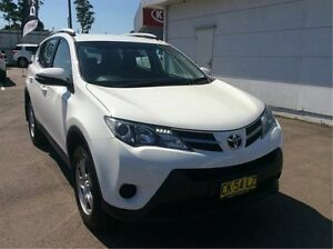 2015 Toyota RAV4 ASA44R GX AWD White 6 Speed Sports Automatic Wagon Cardiff Lake Macquarie Area Preview