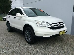 2010 Honda CR-V RE MY2010 4WD White 5 Speed Automatic Wagon Glendale Lake Macquarie Area Preview