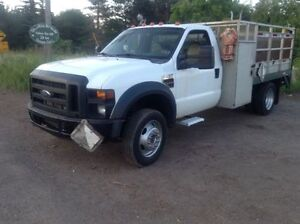 2008 Ford F450 superduty diesel 6.4 auto aluminium rear and lift