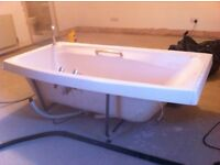 Large Bath - Cream