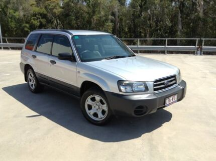 2005 Subaru Forester MY06 X Silver 4 Speed Auto Elec Sportshift Wagon Morayfield Caboolture Area Preview