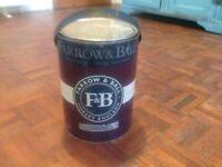 Farrow & Ball paint Modern Emulsion Studio Green 5 litres Full tin