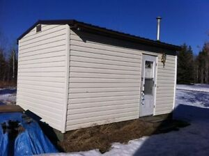 Tiny House, Cabin or Guest Room? Portable With Trailer Included