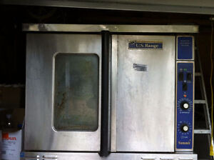 Two US Range Summit Convection Ovens