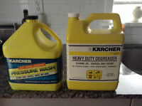 Karcher pressure washer degreaser and concentrate