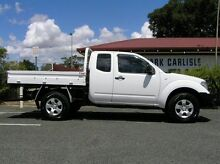 2012 Nissan Navara D40 RX White 5 Speed Automatic Extracab Victoria Park Victoria Park Area Preview
