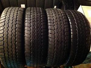 4 pneus d'hiver 195/65 r15 viking snow tech ,,,, 125$