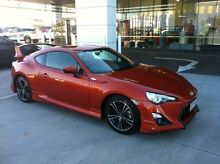 2013 Toyota 86 ZN6 GTS Orange 6 Speed Sports Automatic Coupe Gladstone Gladstone City Preview