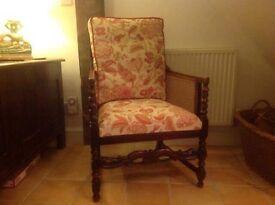 X2 Stunning Bergere chairs