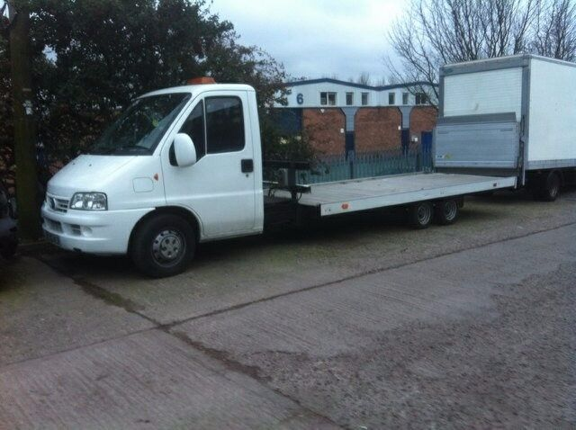 Fiat Ducato Recovery Truck with Rohill Tilt and Slide Bed 56 Reg
