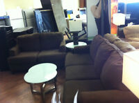 Sofa/love seat coffee tables & lamps