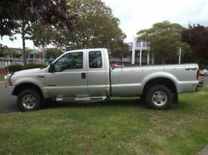 2003 Ford F250 RN XLT (4x4) Slate Grey 4 Speed Automatic Crew Cab Pickup Moorabbin Kingston Area Preview
