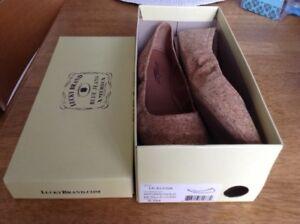 LUCKY BRAND Flat ballerina cork shoes size 8.5
