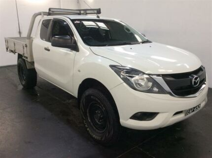 2016 Mazda BT-50 MY16 XT HI-Rider (4x2) White 6 Speed Manual Freestyle Cab Chassis Cardiff Lake Macquarie Area Preview