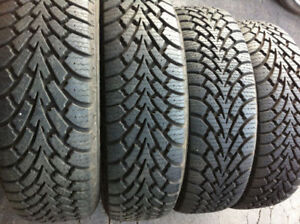 225/65/R16,100S,Goodyear Nordic Winter Tires For Sale