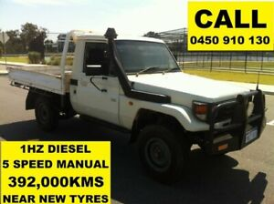2006 Toyota Landcruiser HZJ79R (4x4) French Vanilla 5 Speed Manual 4x4 Cab Chassis Ellenbrook Swan Area Preview