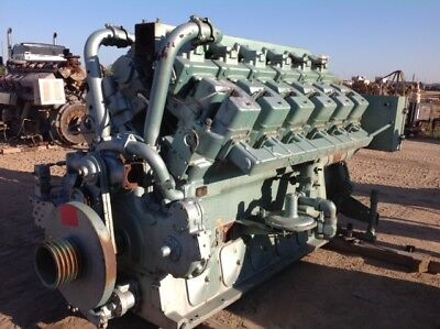 Waukesha Natural Gas Engine 7042gu