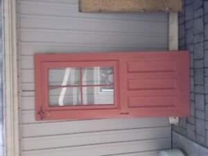 GREAT COTTAGE OR SHED WOODEN DOOR 34.5