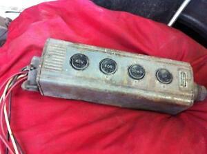 Controle moteur, Interupteur
