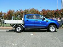 2013 Ford Ranger XL Blue 5 Speed Automatic Dual Cab Gosnells Gosnells Area Preview