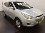 2011 Hyundai ix35 LM MY11 Active (FWD) Silver 5 Speed Manual Wagon Cardiff Lake Macquarie Area Preview
