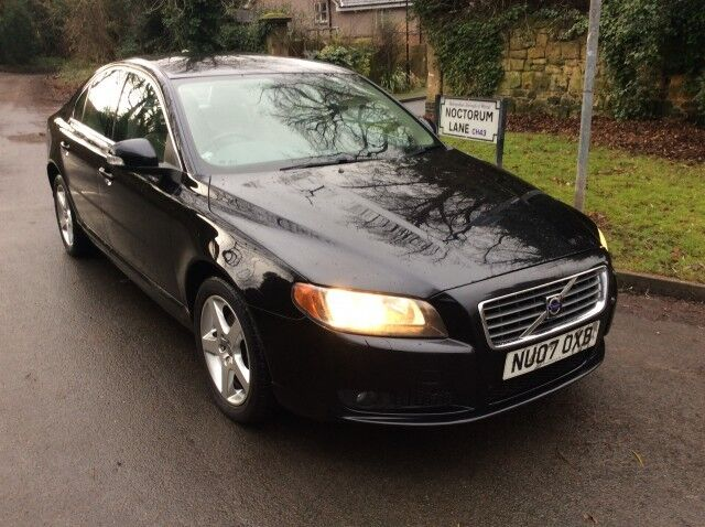 volvo s80 2 4 se d5 4dr black 2007 in oxton. Black Bedroom Furniture Sets. Home Design Ideas