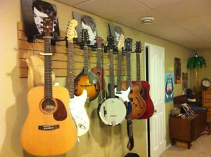 Wall Display For Guitars,etc