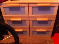 2no. Bedside Cabinets