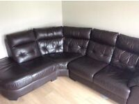 Corner leather large can deliver