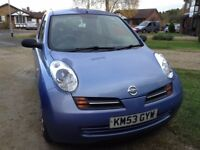 NISSAN MICRA AUTOMATIC 12 MONTHS MOT.2 OWNERS FROM NEW.