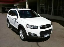 2013 Holden Captiva CG Series II MY12 White 6 Speed Sports Automatic Wagon Berwick Casey Area Preview