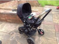 For Sale Mothercare Travel System in good condition with full instructions.