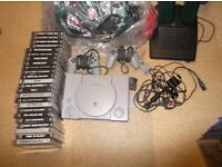 playstation one loads of games old school