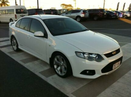 2011 Ford Falcon FG MkII XR6 White 6 Speed Auto Seq Sportshift Sedan Gladstone Gladstone City Preview