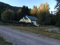 Well loved home & 10 acres nestled in Creston Valley