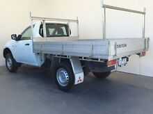 2013 Mitsubishi Triton MN MY13 GL White 5 Speed Manual Cab Chassis Mount Gambier Grant Area Preview