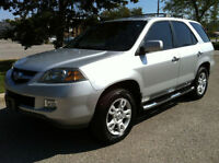 2004 ACURA MDX ELITE PKG - NAV|CAMERA|DVD|RUNNING BOARDS