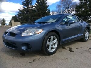 2007 Mitsubishi Eclipse, GS-PKG, 5/SPD, LOADED, $6,000