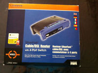 Linksys Router - Complete in Box