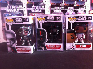 Star Wars Exclusive & Rare Funko Pop Vinyl & Hikari Figures!