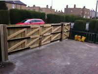 Quality Heavy Duty Fences ,Driveway and Garden Gates . All Central Belt of Scotland Free Quotes