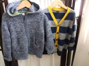 2 Like New Cotton Cardigan Sizes 3T - 4T