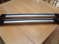 Universal roof rack for car - with key - very good condition - collect Guildford GU1