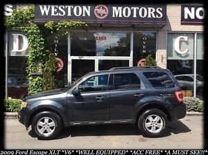 2009 Ford Escape XLT*V6*ACC FREE*100% APPROVED FINANCING!