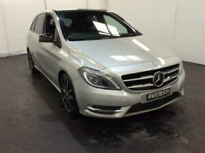 2014 Mercedes-Benz B-Class W246 B200 CDI DCT Silver 7 Speed Sports Automatic Dual Clutch Hatchback Cardiff Lake Macquarie Area Preview