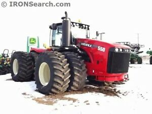 550 VERSATILE-2015--AS NEW w/207 HRS