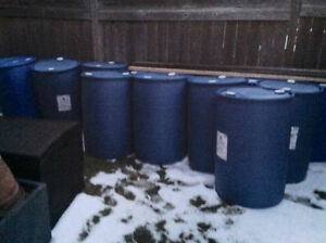 Food grade blue  barrels               Not for shipping