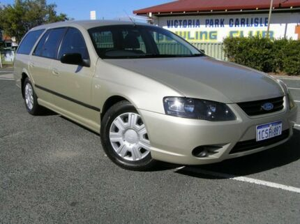 2008 Ford Falcon BF MK11 XT Gold 4 Speed Automatic Wagon Victoria Park Victoria Park Area Preview